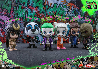 Suicide Squad Cosbaby Collectible Set 2 by Hot Toys