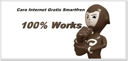 Trik Internet gratis Smartfren Android