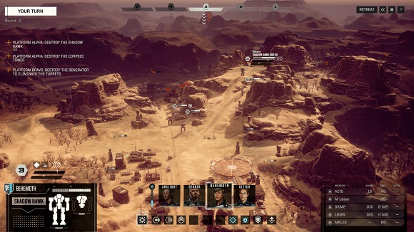 BATTLETECH PC Repack Free Download Screenshot 3