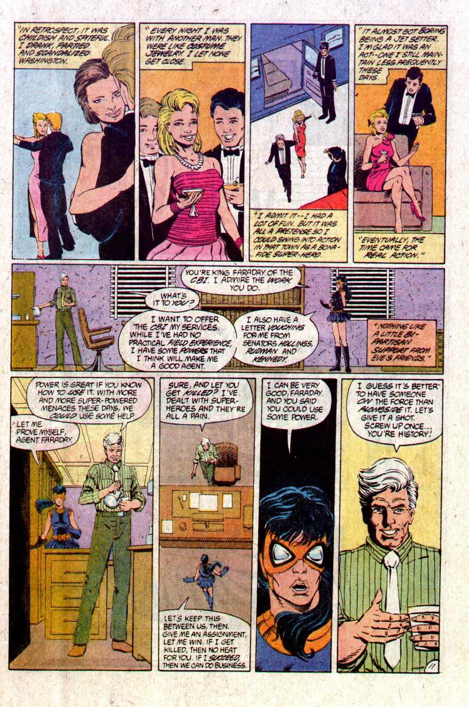 Read online Secret Origins (1986) comic -  Issue #28 - 14