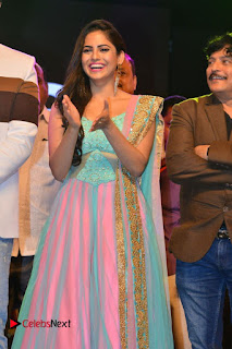 Actress Naina Ganguly Stills in Long Dress at Vangaveeti Audio Launch  0020.JPG