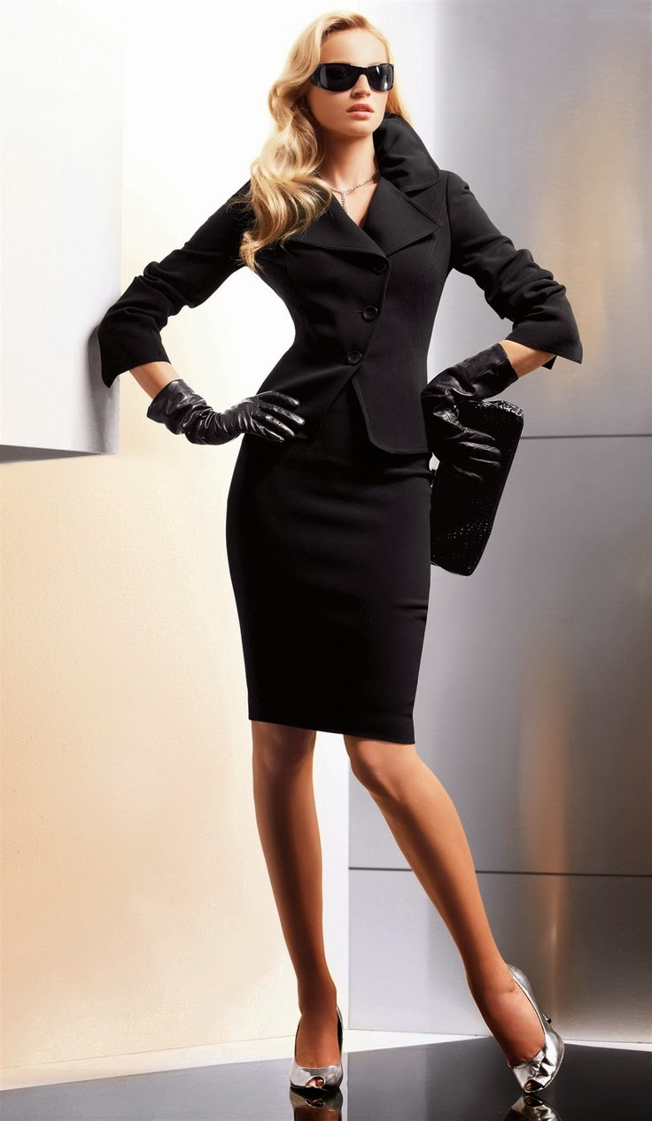Suit sexy woman business