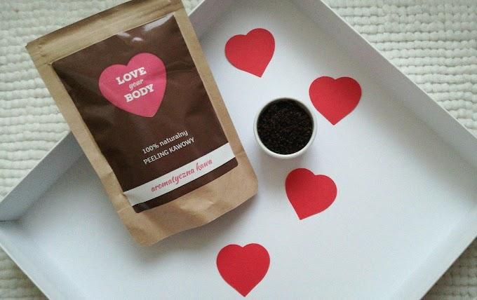 Naturalny peeling kawowy Love Your Body | Aromatyczna kawa
