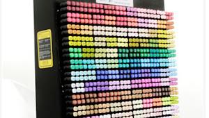 Arti Kode Huruf untuk Warna pada Copic