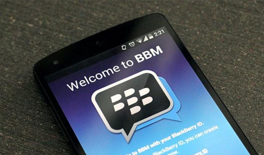 Cara Logout Akun Blackberry Messenger (BBM) di Android