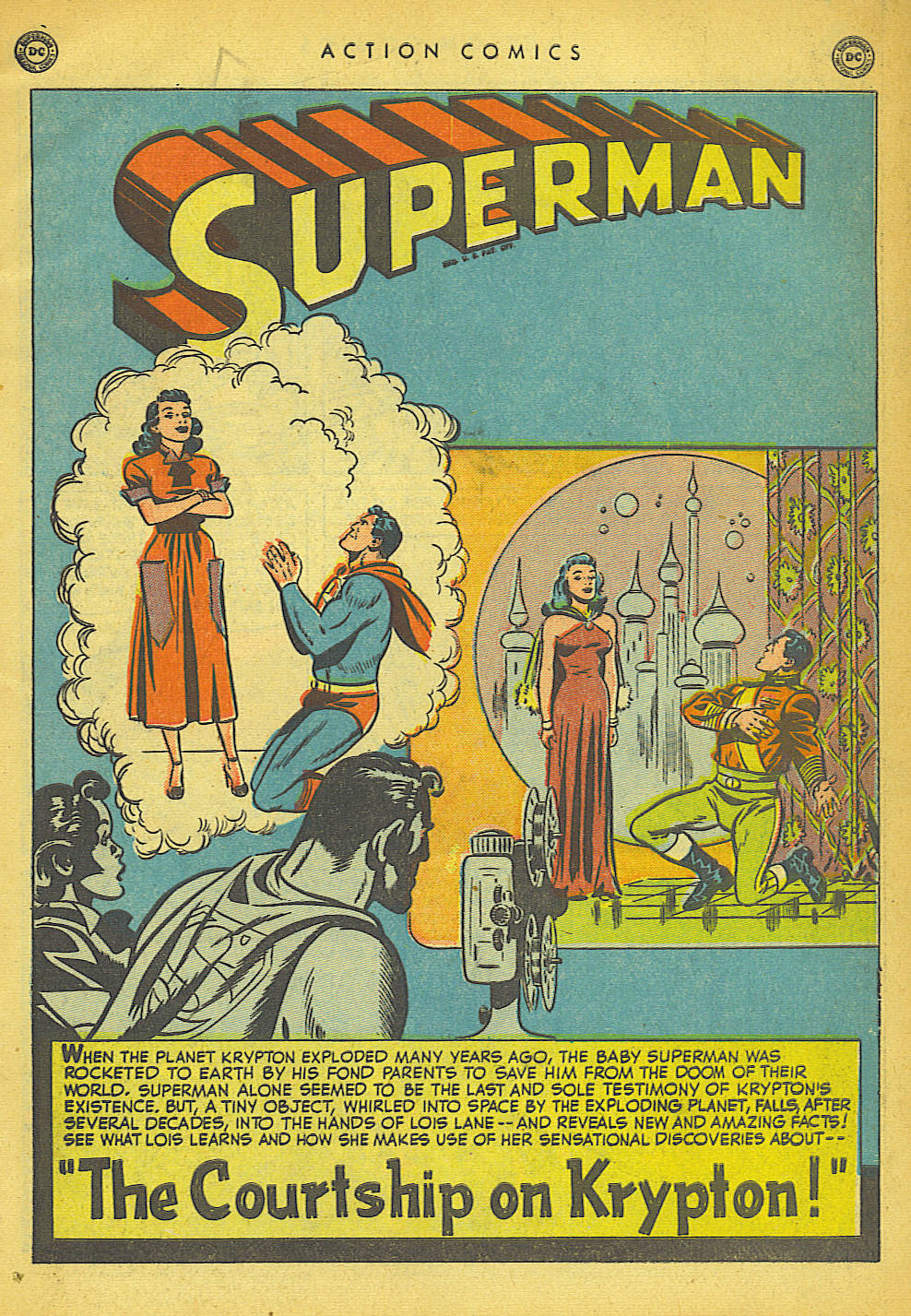 Read online Action Comics (1938) comic -  Issue #149 - 2