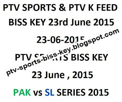 June 2015 | PTV Sports Biss Key | PTV Sports Biss Key Daily Update