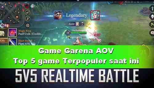 Game Garena AOV Action MOBA