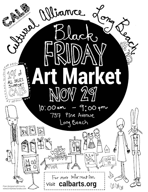 CALB Black Friday Art Market Page