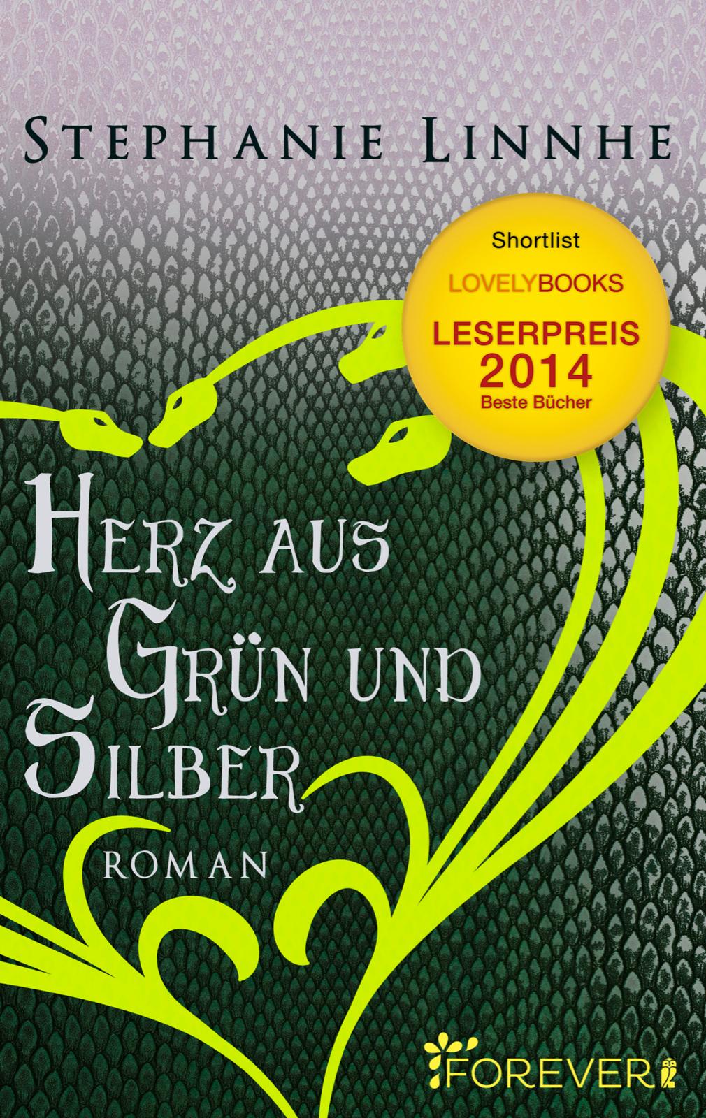 Cover Herz aus Grün und Silber