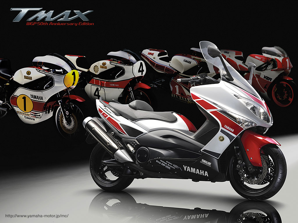 planet japan blog yamaha tmax 500 wgp 50th anniversary edition 2011. Black Bedroom Furniture Sets. Home Design Ideas