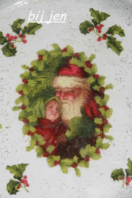 Teller, servietten technik, weihnachten, kerst, christmas, jul, noel