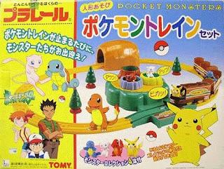 Tomy plarail Pokemon Train Set