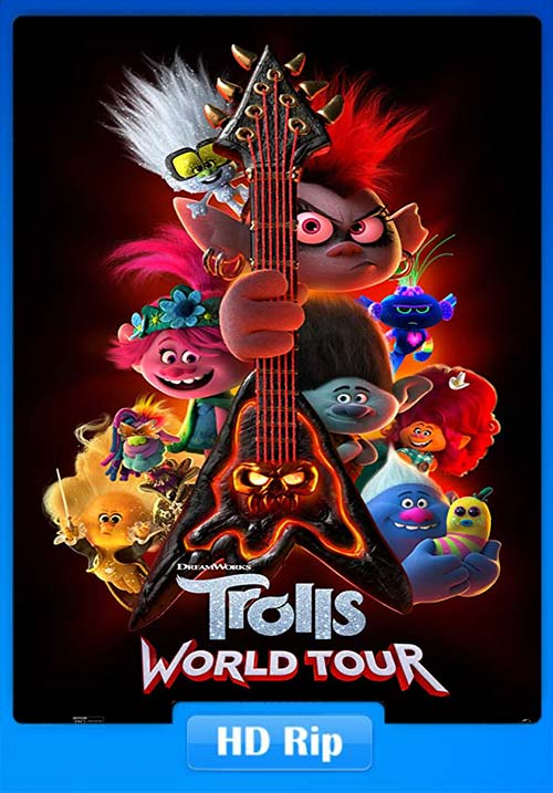 Trolls World Tour 2020 720p WEBRip x264 | 480p 300MB | 100MB HEVC
