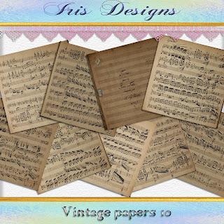 Vintage papers 10