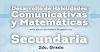 Libro de matemáticas y español 2 de secundaria