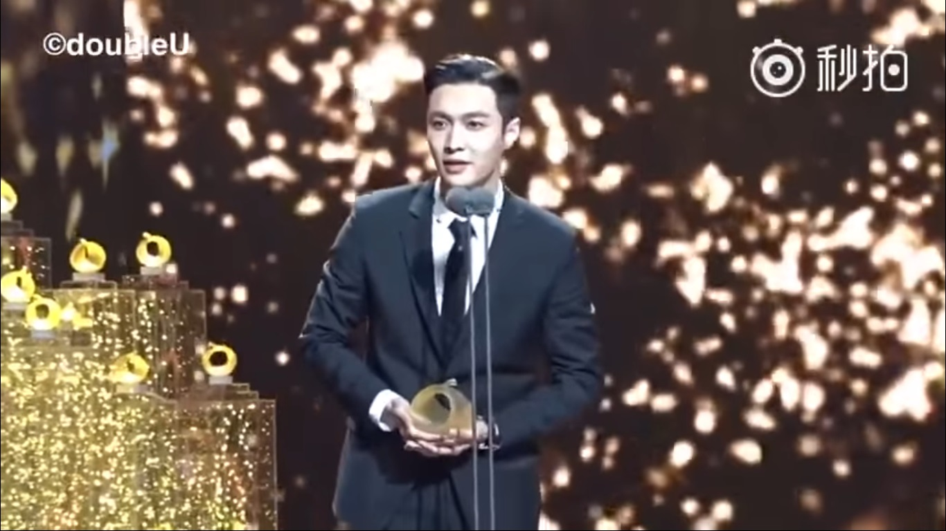 [ENGSUB] 170226 Lay won 'All Rounded Artist' on TV Drama Quality Award Acceptance Speech Full HD