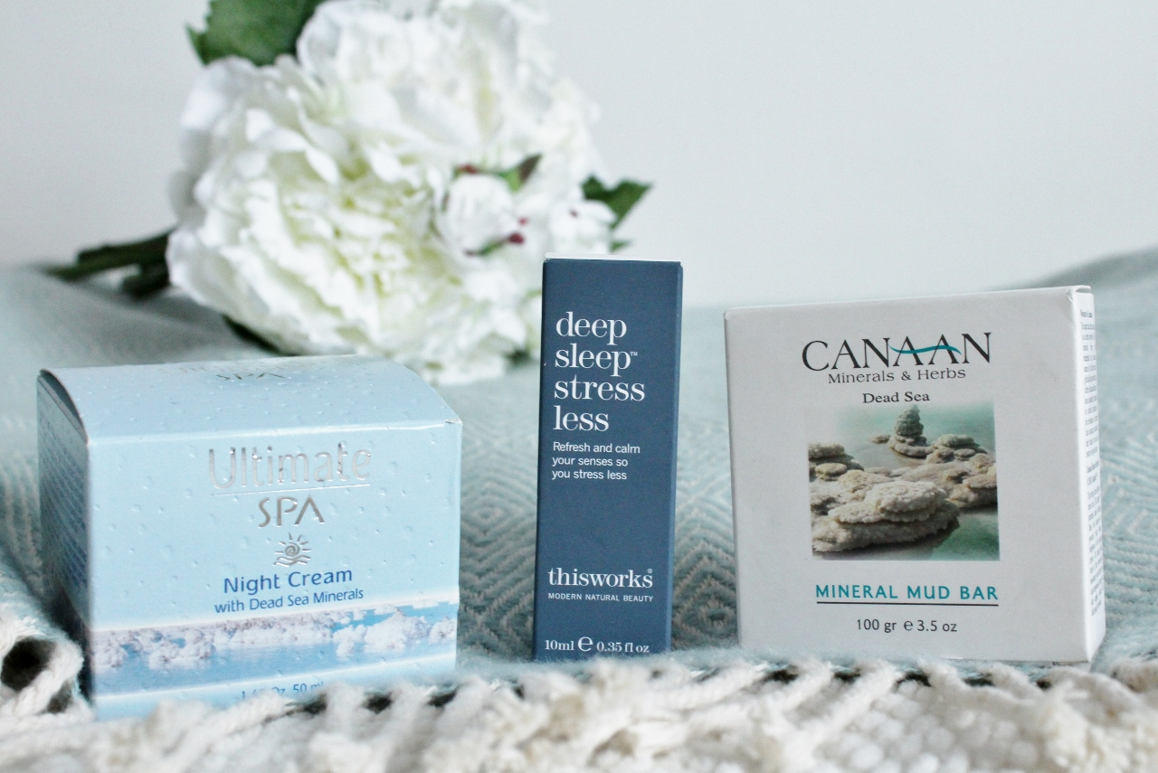 Ultimate Spa Night Cream and Thisworks deep sleep