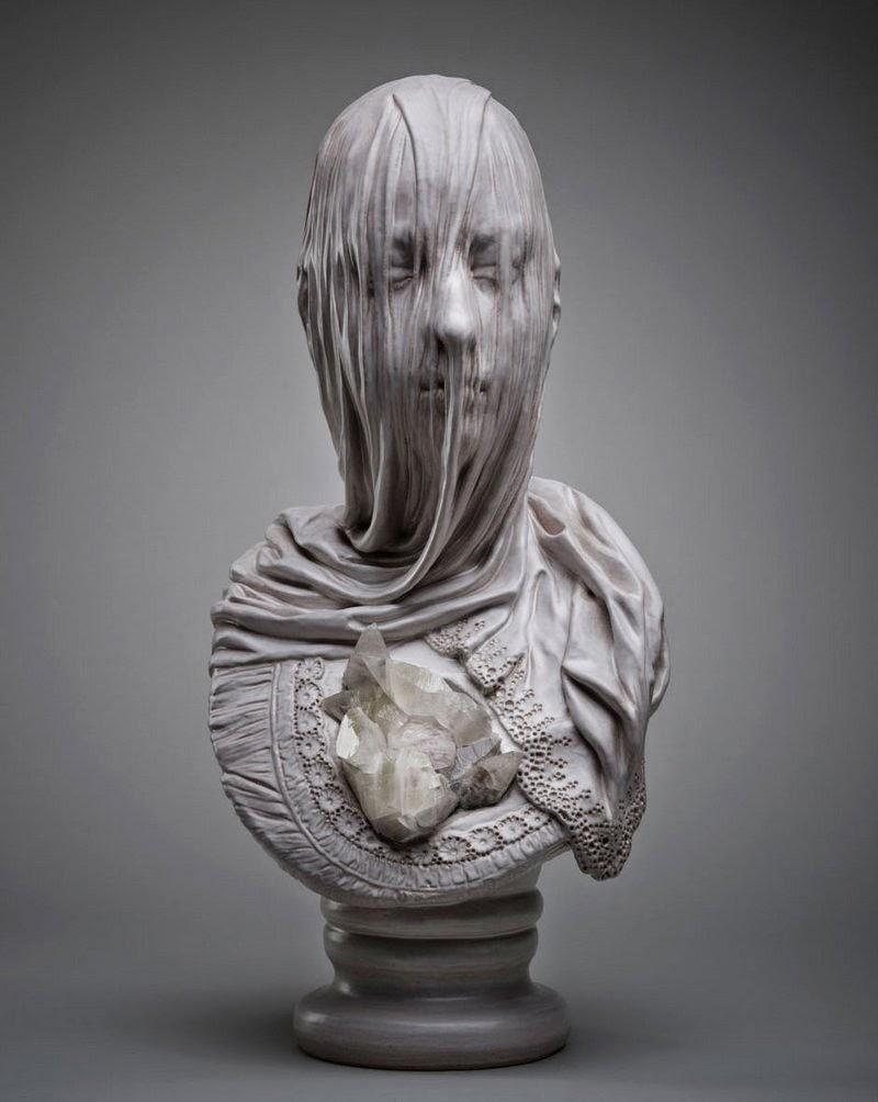Simply Creative Veiled Souls Sculptures By Livio Scarpella