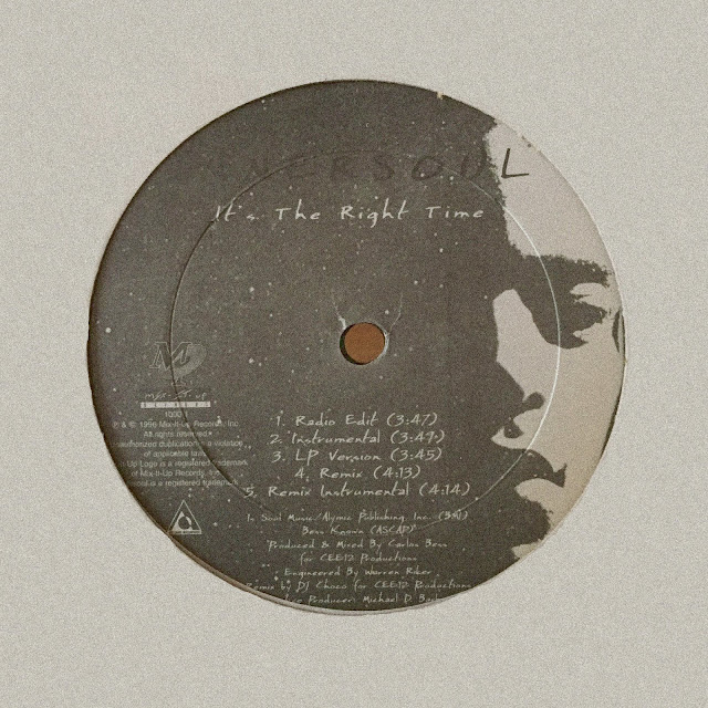"Innersoul 'It's The Right Time' 12"" (1996)"