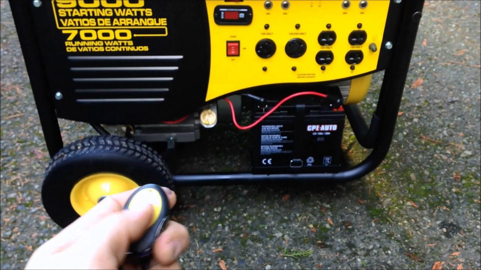Best Portable Generator Reviews Champion 196cc Wiring Diagram