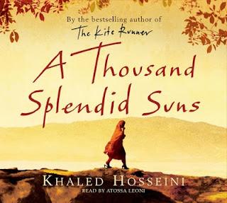 Thousand Splendid Suns by Khaled Hosseini.