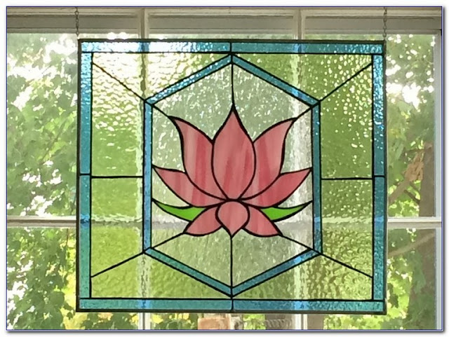 Art Deco Stained GLASS WINDOW Film for sale
