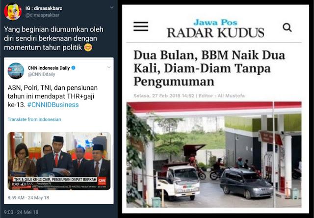 Gaji ke13 dan THR Langsung Tampil Mengumumkan, Begini Komentar Menohok Netizen