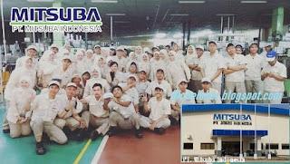 INFO lowongan kerja tebaru PT.MITSUBA INDONESIA2020 sma smk