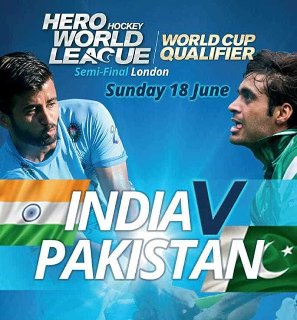 India vs Pakistan , Hockey World League Semifinal 2017