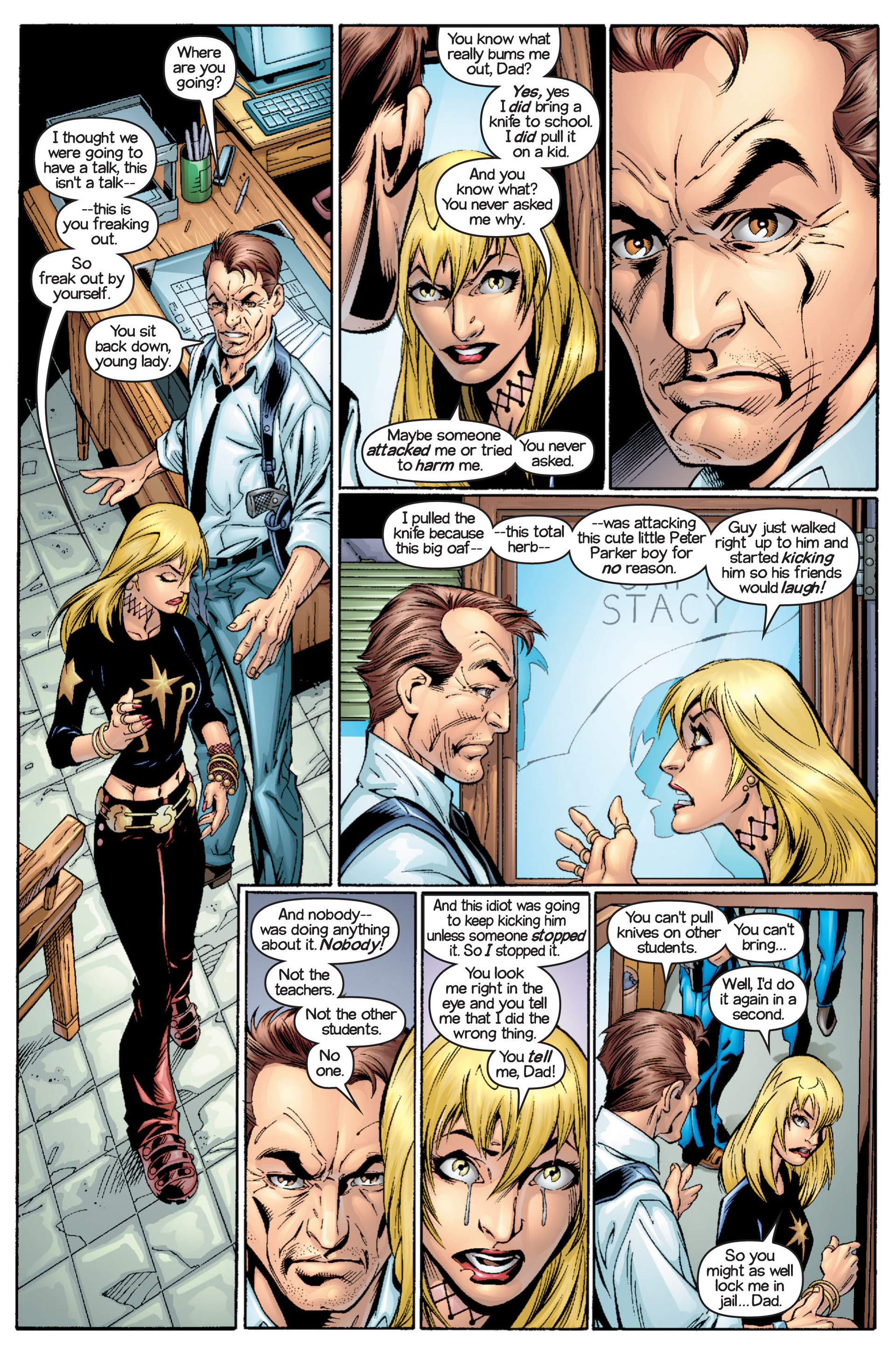 Read online Ultimate Spider-Man (2000) comic -  Issue #16 - 10