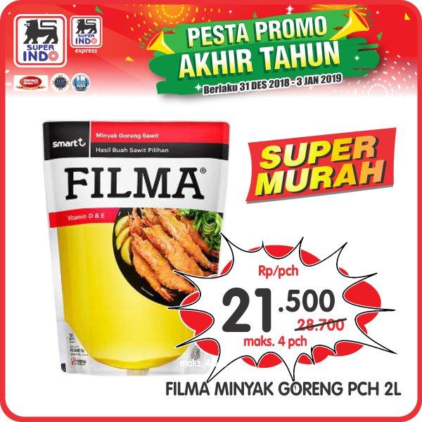 #Superindo - Promo Super Murah Filma 2L Cuma Rp.21.500 (S.d 03 Jan 2018)