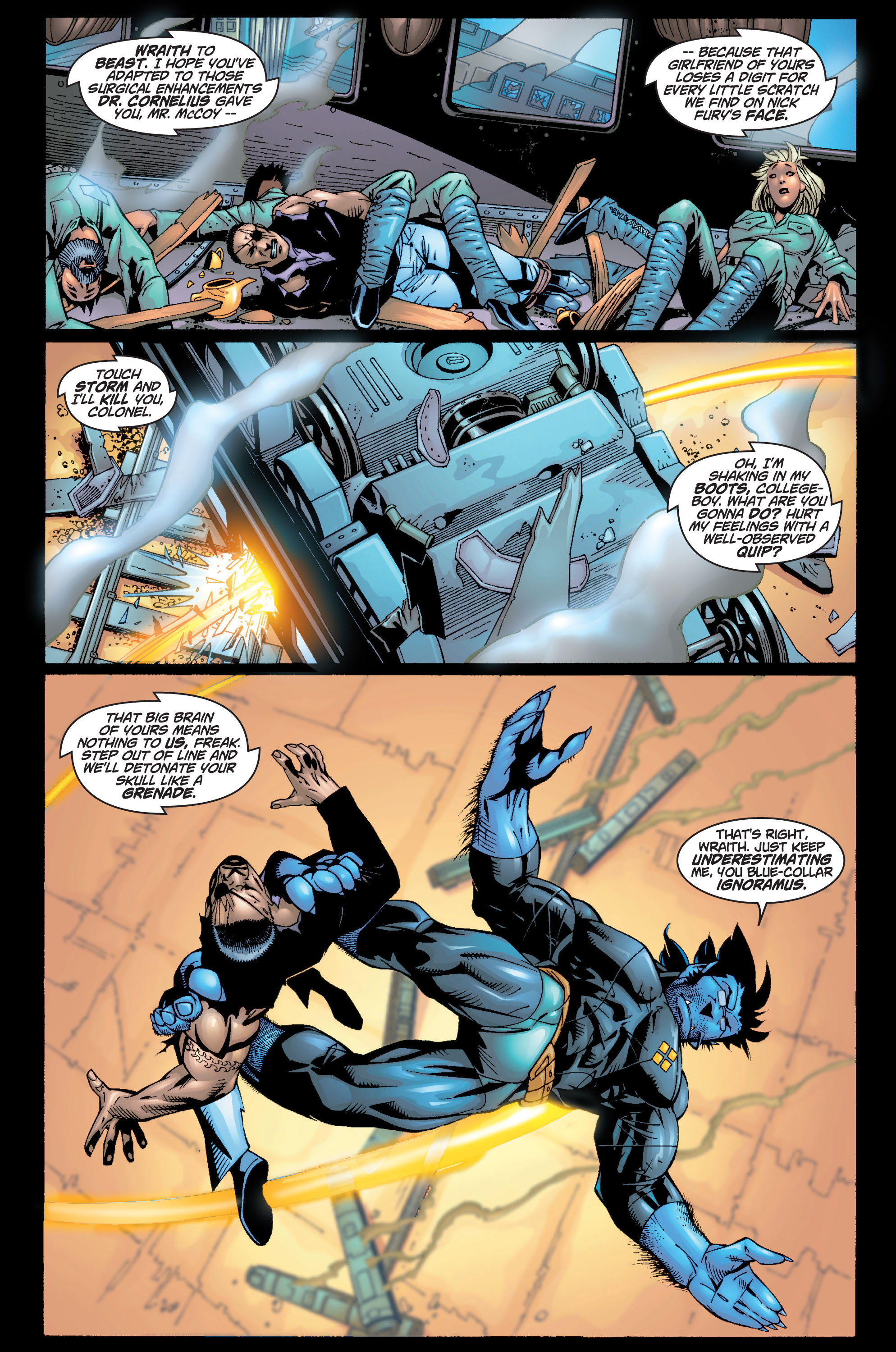 Read online Ultimate X-Men comic -  Issue #10 - 9