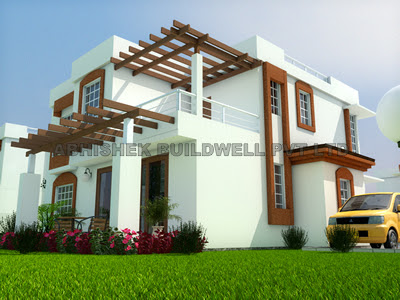 Exterior Design of a bunglow