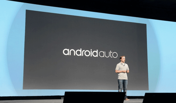 Google function for launching Android Auto