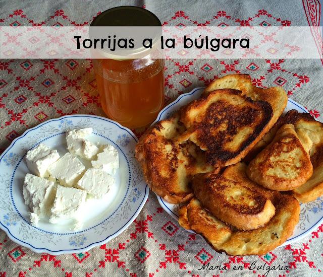 torrijas a la búlgara, parzheni filiiki, Bulgaria