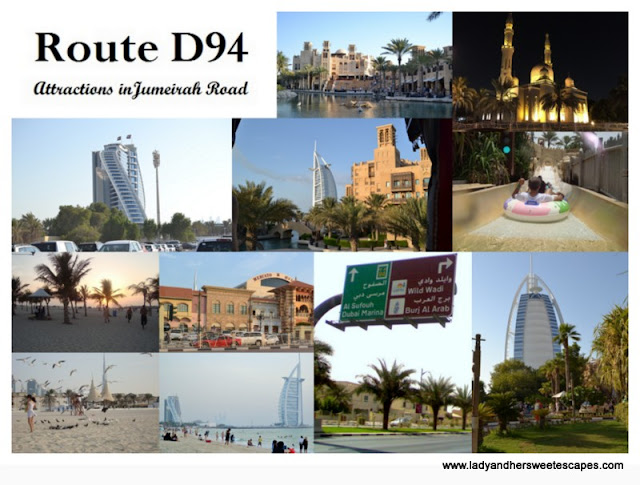 Jumeirah Road attractions