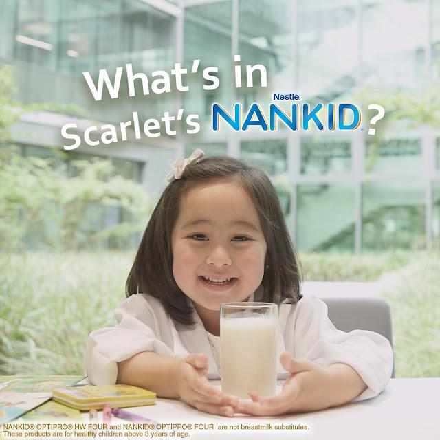 Scarlet Snow Belo's Swiss Discovery with Nestlé NANKID