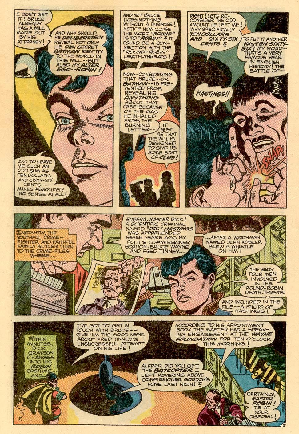 Detective Comics (1937) 367 Page 7