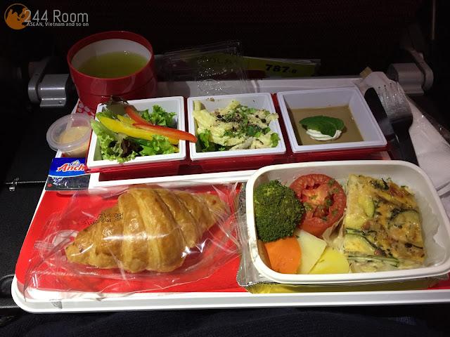 JALJL752機内食(朝食) Jal in-flight meal2