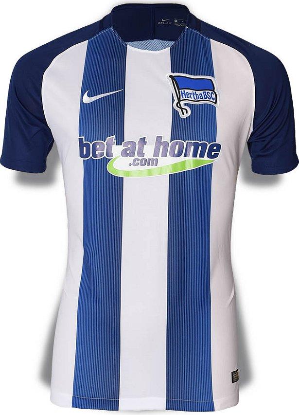 f4c4a3bf3b Nike apresenta novas camisas do Hertha Berlin - Show de Camisas