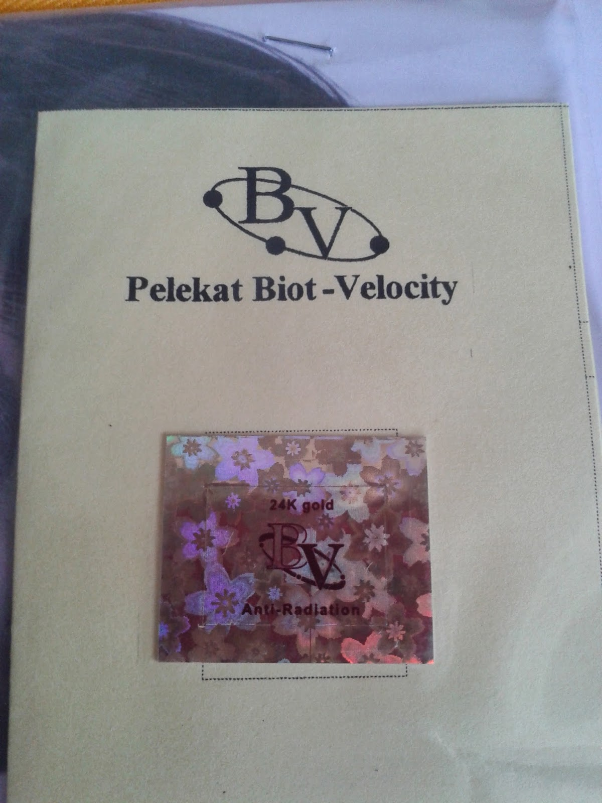 Biot velocity anti radiation