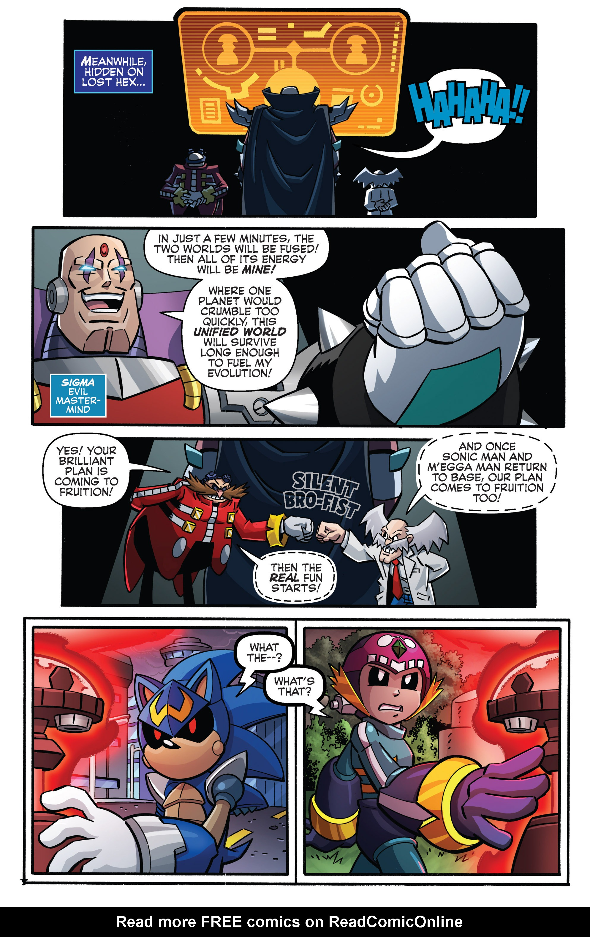 Read online Sonic The Hedgehog comic -  Issue #273 - 20