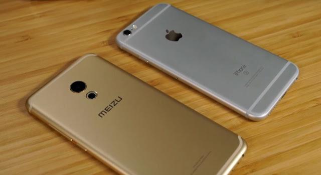 Meizu Pro 6 mirip iPhone