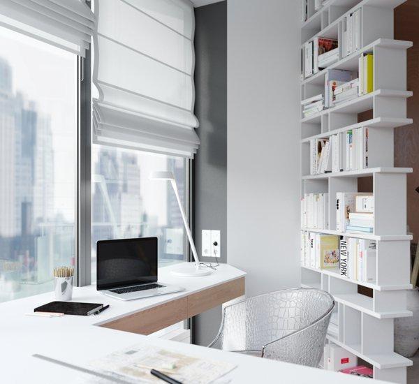 Simple Minimalist Small Home Office Ideas