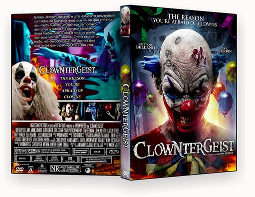 CAPA DVD – CLOWNTERGEIST DVD-R AUTORADO