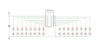 Diagrama do circuito de demonstração.
