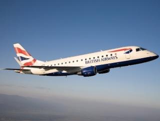 avíon de British Airways