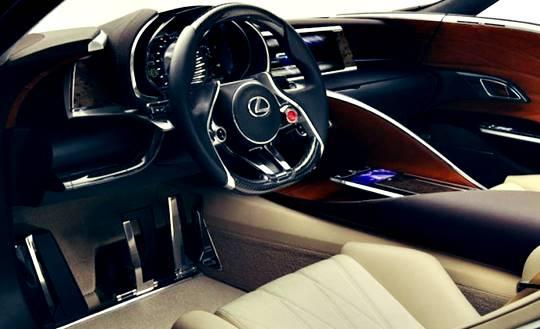 2017 Lexus SC Interior