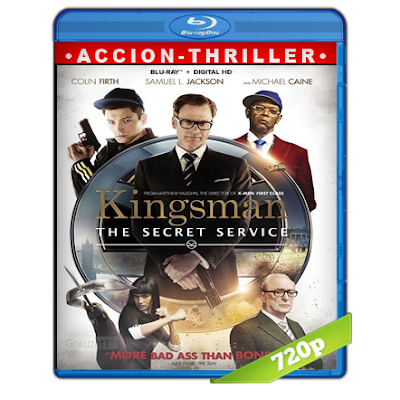 Kingsman El Servicio Secreto (2014) BRRip 720p Audio Trial Latino-Castellano-Ingles 5.1